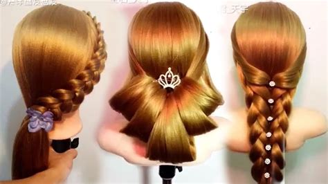 Hair Style by 10 Amazing Hairstyles Tutorials Hacks For