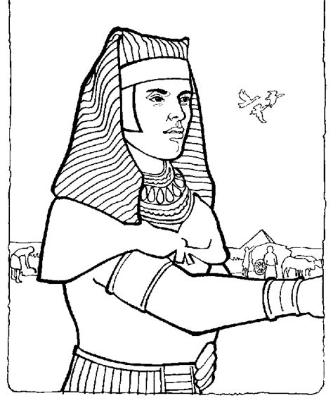 free coloring pages of joseph king dreams
