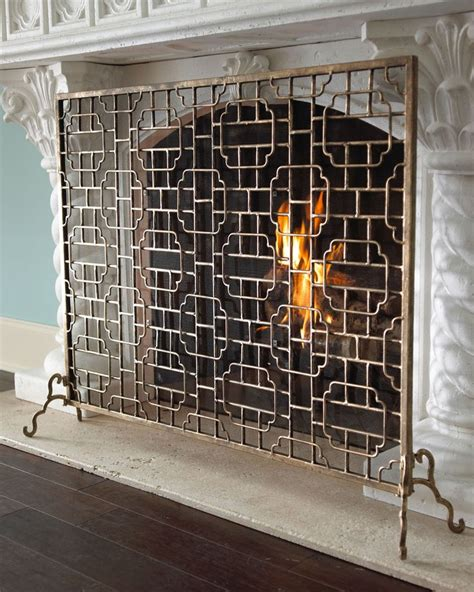 Screen Fireplace by