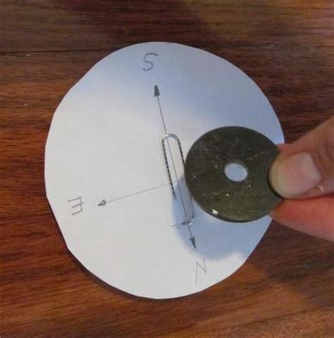 How To Make A Paper Compass - make your own compass for and preschoolers