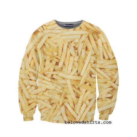 Sweater Fries burger and fries sweatshirts holycool net