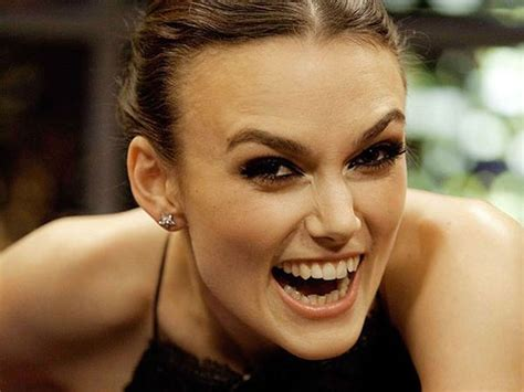 Keira Knightley Refuses To Smile by Keira Knightley Pearly Whitely Alisonlangford S