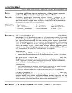 administrative professional resume sle admin officer sle resume 28 images dr assistant resume