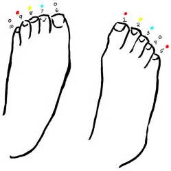 foot coloring page pictures of cliparts co