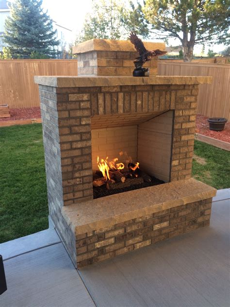 Concrete Outdoor Fireplace by Modern Outdoor Fireplace On Concrete Patio Archadeck