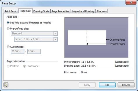 how to print from visio automatic page sizing in visio 2010 visio insights