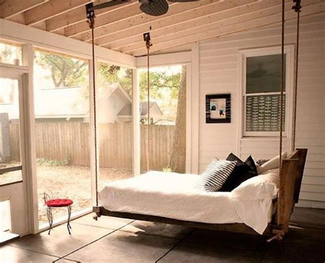 swing in bedroom suspended bed swing bedroom ideas pinterest