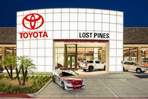 toyota dealer portal lost pines toyota bastrop tx 78602 car dealership and