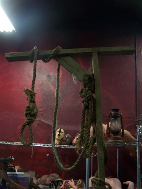 haunted house props props for rent portfolio haunted house photos gallows 97