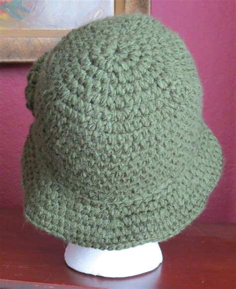 Crocheted 1920's Cloche Hat Pattern   My Life Made Crafty