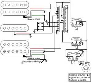 hsh 5 way guitar switch wiring diagrams get free image