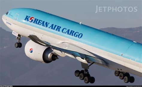 hl8075 boeing 777 fez korean air cargo leonardo jetphotos