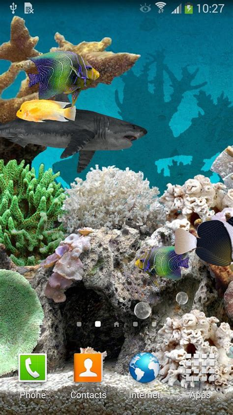coral apk 3d aquarium hd live wallpaper free for android mobile phone