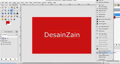 cara membuat yel yel pmr cara membuat text dengan efek metal 3d berkilau desain zain