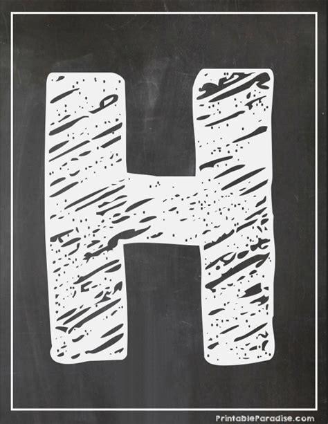 printable chalkboard letters printable letter h chalkboard writing print chalky letter h