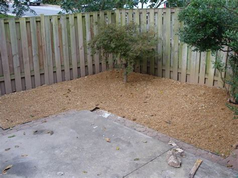Pea Gravel Backyard by Photo Of Pea Gravel Patio All Home Design Ideas