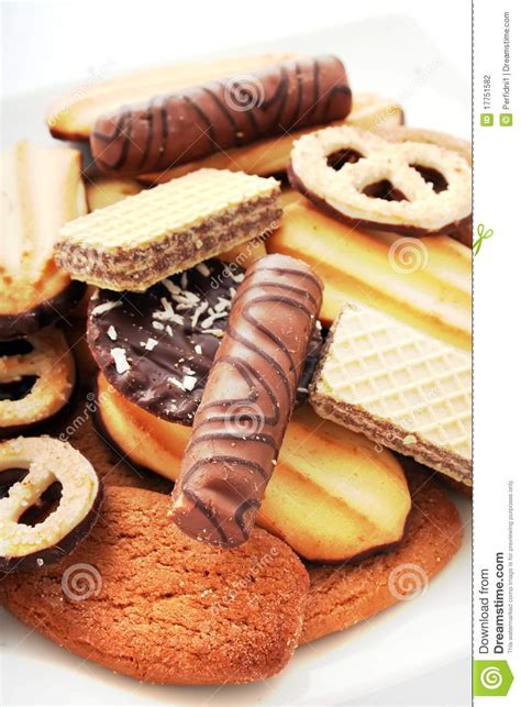 biscuits cookies cakes stock photography image