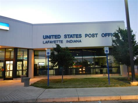 Lafayette Indiana Post Office by Lafayette Indiana Downtown Station Post Office Post