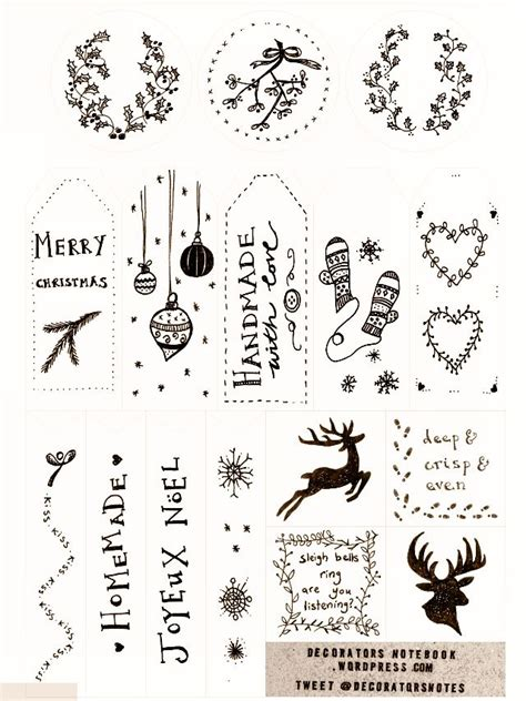 printable tags rustic 278 best rustic christmas images on pinterest