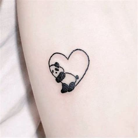 tattoo panda girl 24 small panda bear tattoo ideas for girls styleoholic