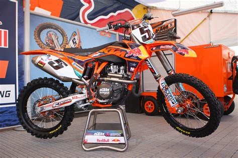 Ktm Supercross Team Ktm Sx F 450 Team Bull Ktm Dungey Supercross 2013