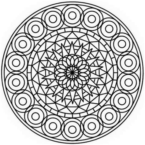abstract circle coloring page abstract mandala coloring page free printable coloring pages