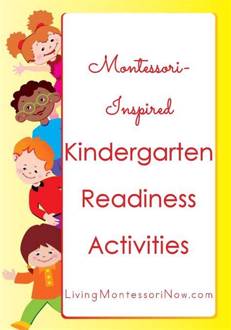 activities for kindergarten readiness montessori monday montessori inspired kindergarten