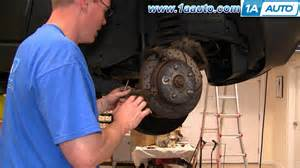 Jeep Patriot Wheel Bearing Noise How To Install Replace Front Wheel Hub Bearing Jeep Grand