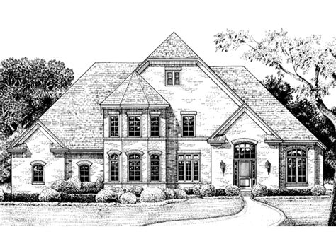 turret house plans barton manor home plan 026d 1349 house plans and more
