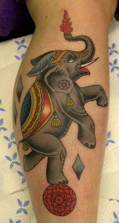 circus elephant tattoos circus elephants and elephant