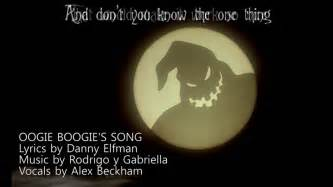 oogie boogies song cover youtube