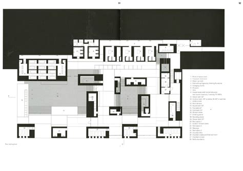 therme vals floor plan therme vals atmospherics