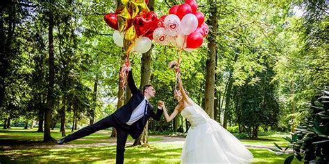 Hochzeit Luftballons by Luftballons Zur Hochzeit So Setzt Ihr Die Himmlisch