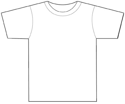 printable blank tshirt template printable t shirt templates