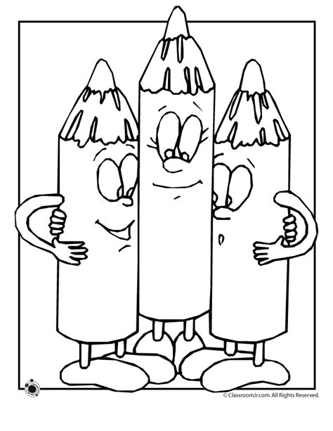 Coloring Pages Of Crayons Az Coloring Pages Crayon Coloring Pages