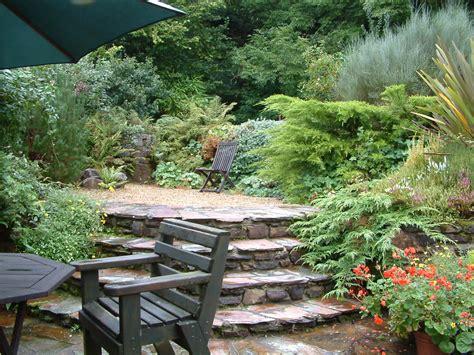 Garden Terrace by Craftsmans Garden Room Tor Cottage A Retreat