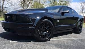 Black Mustangs For Sale Black 2009 Ford Mustang Gt 45th Anniversary Sold