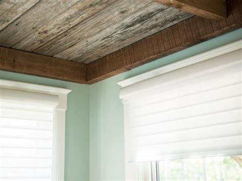 Distressed Wood Ceiling by How To Weather And Distress New Wood How Tos Diy