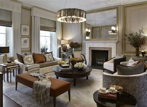 the facet chandelier was specified for the drawing room of