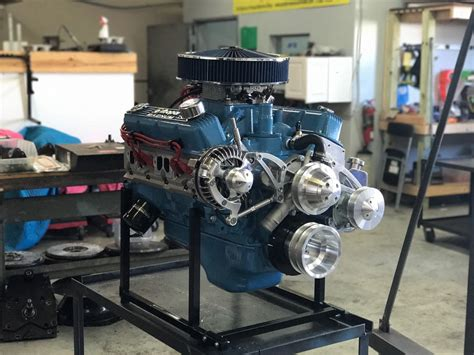Chrysler 360 Engine by 360 C I Chrysler Crate Engine With 475 Hp