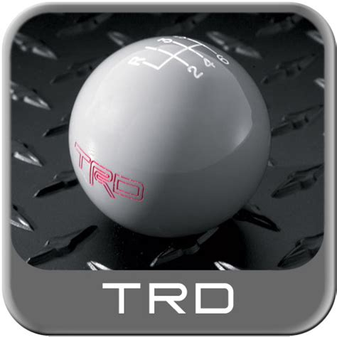 Fj Cruiser Trd Shift Knob by 2007 2014 Toyota Fj Cruiser Shift Knob Gray W Trd Logo 6