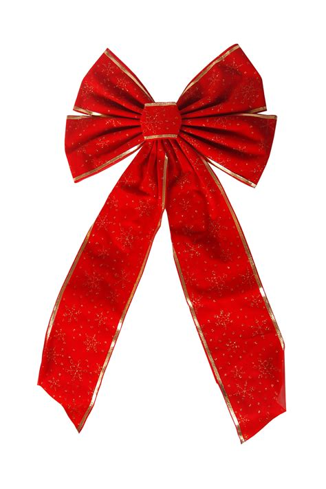 isolated christmas bow on white background no cost