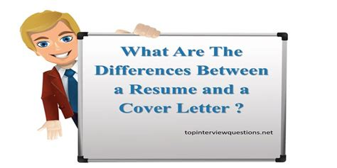 the difference between a cover letter and resume what is difference between a resume and a cover letter