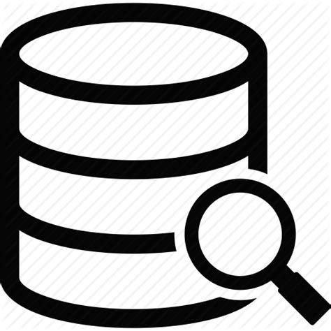 Finder Database Database Search Icon Icon Search Engine