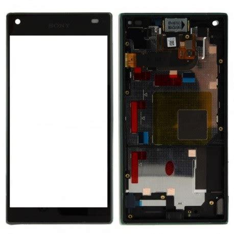 Lcd Sony Xperia Z5 Mini ensemble vitre tactile ecran lcd chassis sony xperia z5 compact mini e5803 e5823 noir