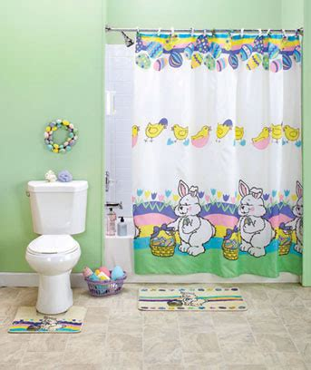 easter bathroom set new 15 pc easter bathroom set ebay