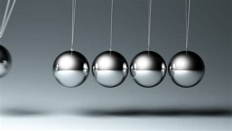 steel balls that swing back and forth newtons cradle stock footage video 1811441 shutterstock