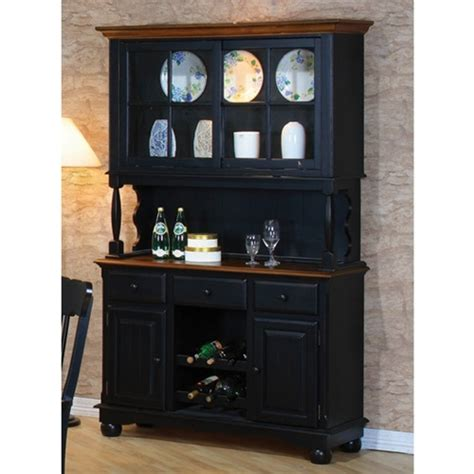 Classic Country Look Buffet Hutch By Coaster 100594 Country Buffet And Hutch