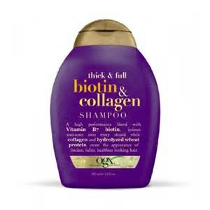 ogx shoo for color treated hair ogx shoo thick biotin collagen 13oz