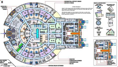 Paramount Floor Plan star trek blueprints e s s aachen xcv 770
